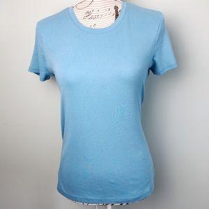 Bass classic T-shirt blue size medium